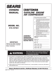 Craftsman 919.157251 Troubleshooting guide