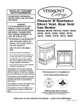 Vermont Castings 3966 Operating instructions