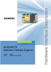 Siemens AC65 Specifications