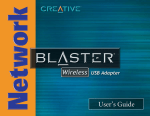 Creative Network Blaster CW2230 User`s guide
