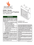 MHSC 400DVBLNV7CE Operating instructions