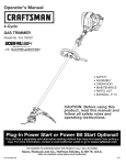 Craftsman INCREDI.PULL 316.792021 Operator`s manual