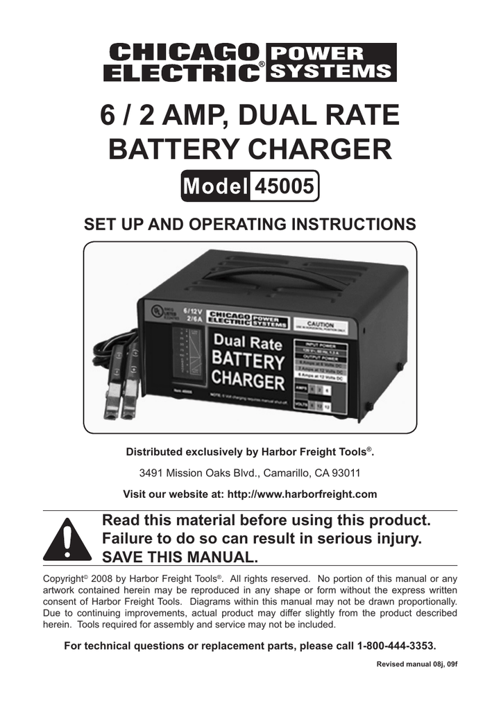 CHICAGO 45005 Operating instructions on sears battery charger schematic, harbor freight inverter schematic, dell battery charger schematic, harbor freight drill schematic,