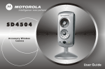 Motorola SD4504 User guide