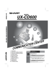 Sharp UX-144 Specifications