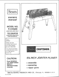 Craftsman 113.20680 Specifications