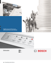 Bosch SMS40T42UK Specifications