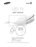 Samsung UN32ES6500 E- User manual