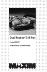 R027 Oval Roaster new fonr