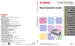 Canon Image Runner iRC1028i Specifications