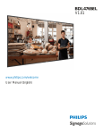 Philips BDL4765EL User manual