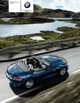 BMW Z4 sDrive35i Owner`s manual