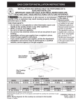 Electrolux EW36GC55GW - 36in Gas Cooktop Operating instructions