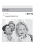 Bosch HBL56 Installation manual
