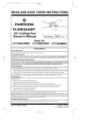 Emerson CF730 Owner`s manual