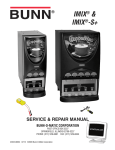Bunn iMIX-5S+A Repair manual