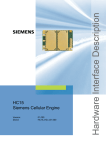 Siemens HC15 Specifications