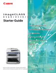 Canon IMAGECLASS D460 User manual