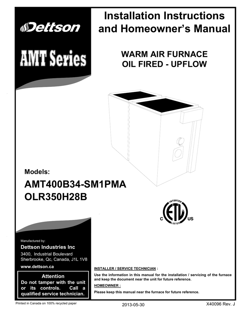 Dettson amt100b34-sm1 specifications | manualzz. Com.