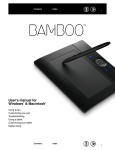 Bamboo User`s Manual for Windows & Macintosh