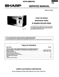 Evenflo R-1851A Service manual