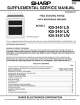 kb-3401ls kb-3401lk kb-3401lw supplemental service manual